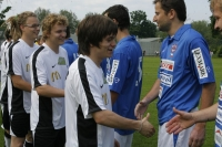 Charitativní fotbalová exhibice osobností 2008