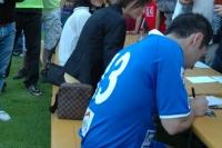 Hluboká nad Vltavou pomáhala fotbalem