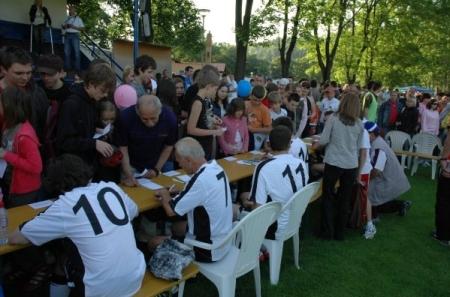 Pomáháme fotbalem 2009 - autogramiáda