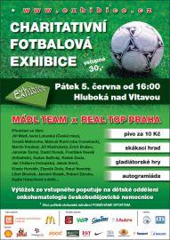 charitativní fotbalová exhibice 2009